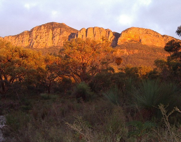 Dunkeld Sandstone Quarry at Sunrise
