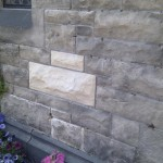 Replacement of Old Sandstone