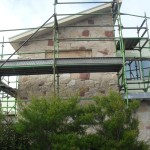 Stone Veneer House