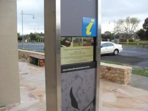 Grampians Sandstone, Tourist Information, Dunkeld